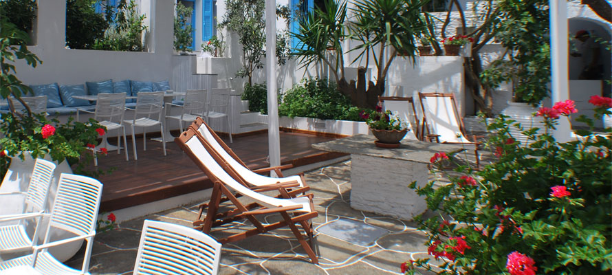 Reservation page for hotel Anthousa in Sifnos